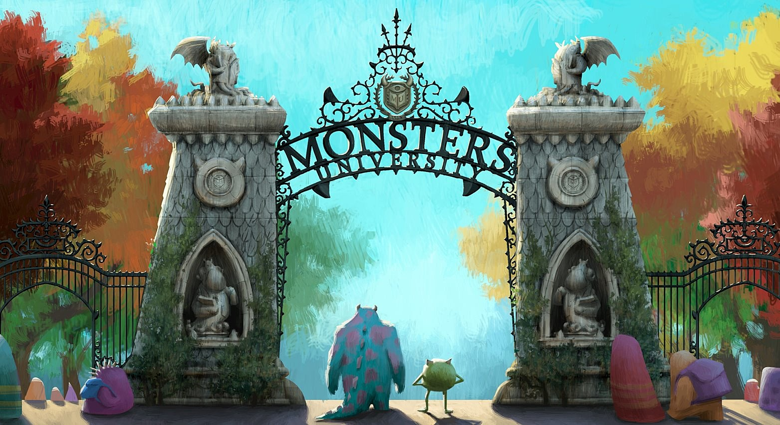 Monsters Inc 2 Concept Art Get A Good Look At