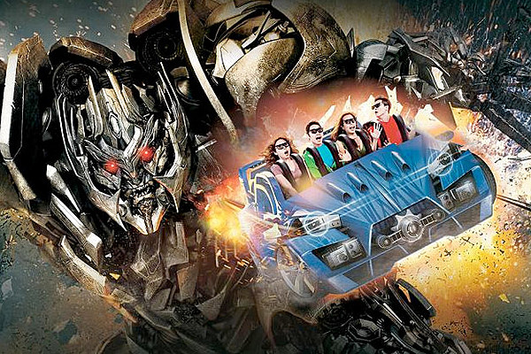Review: 'Transformers: The Ride 3D' at Universal Studios ...  Review: 'Tran...
