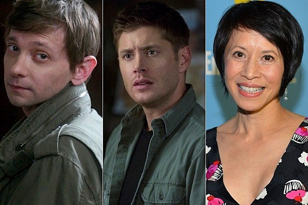 Supernatural Season 8 DJ Qualls Lauren Tom