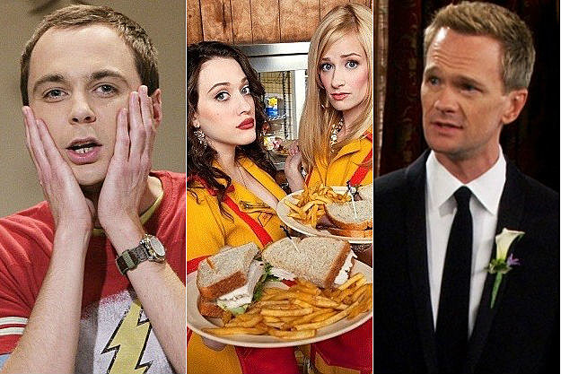 'Big Bang Theory,' '2 Broke Girls,' 'How I Met Your Mother'