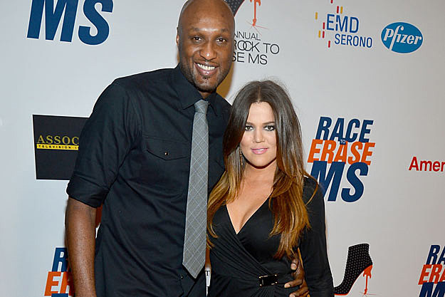 Khloe and Lamar Odem