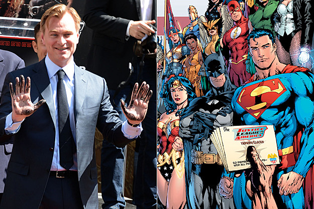 Christopher Nolan on 'Justice League' movie