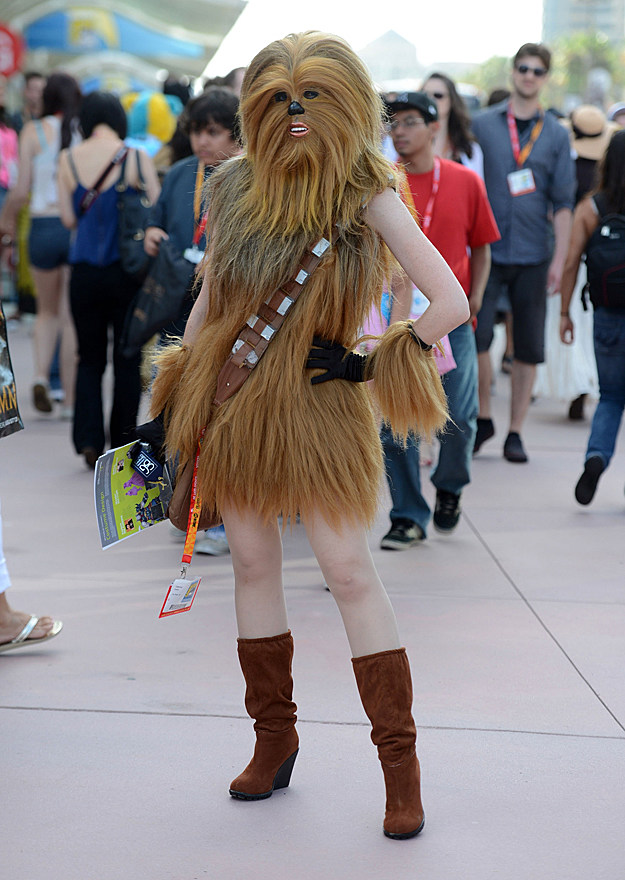 Comic-Con 2012 cosplay Chewbacca