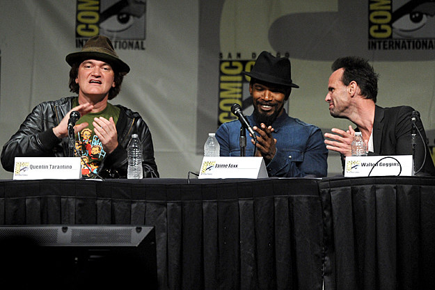 Comic-Con 2012 'Django Unchained' panel