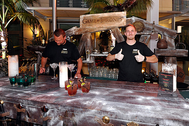 Comic-Con 2012 'Game of Thrones'-Themed Bar