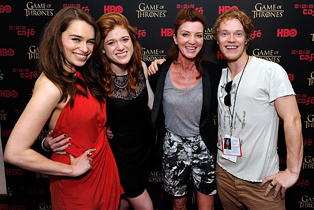 Comic-Con 2012 'Game of Thrones' cast