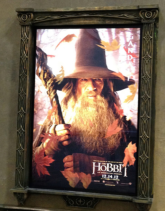 Comic-Con 2012 'The Hobbit' poster, Gandalf