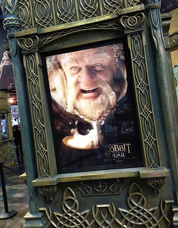Comic-Con 2012 'The Hobbit' poster
