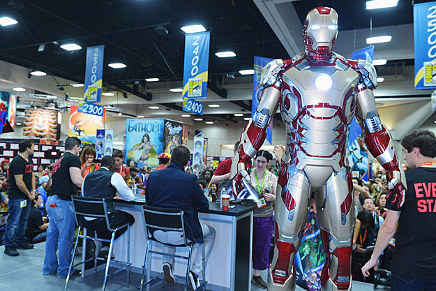 Comic-Con 2012 'Iron Man 3' Armor