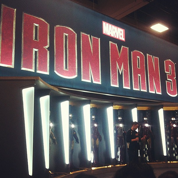 Comic-Con 2012 - 'Iron Man 3' booth