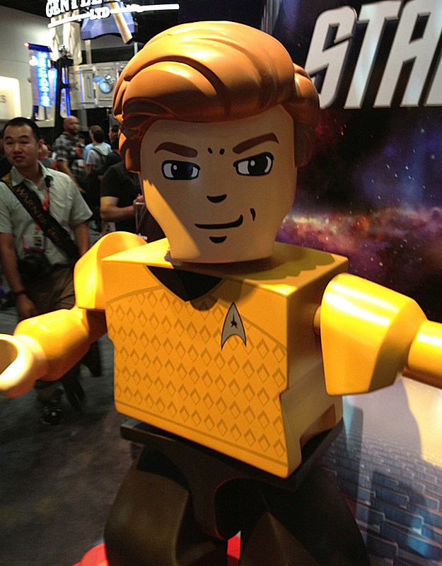 Comic-Con 2012 LEGO 'Star Trek' Figure