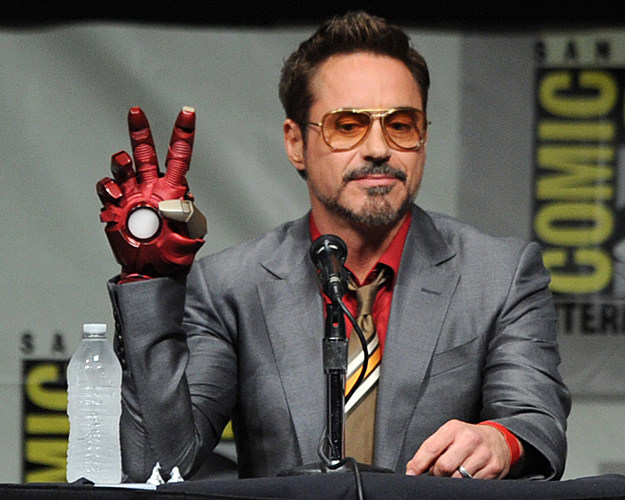 Comic-Con 2012 Marvel 'Iron Man 3' panel with Robert Downey, Jr.
