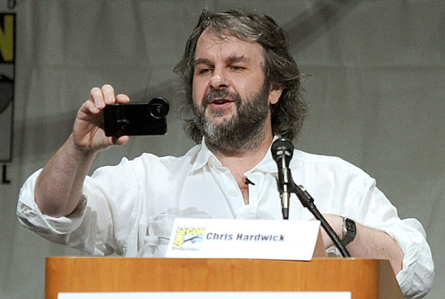 Comic-Con 2012 Peter Jackson at 'The Hobbit' panel