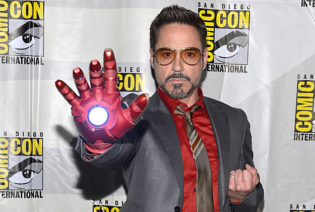 Comic-Con 2012 Robert Downey Jr. 'Iron Man 3'