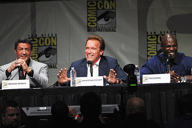 Comic-Con 2012 'Expendables 2' panel