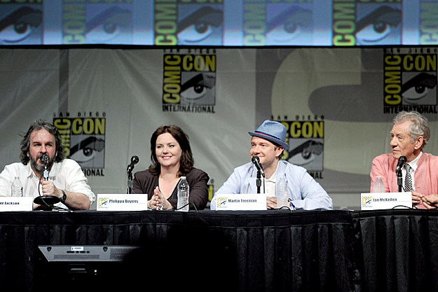 Comic-Con 2012 'The Hobbit' panel