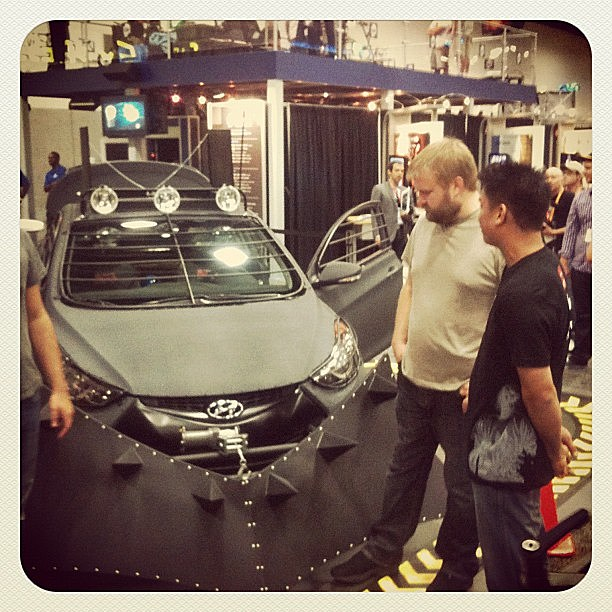 Comic-Con 2012 - 'The Walking Dead' car
