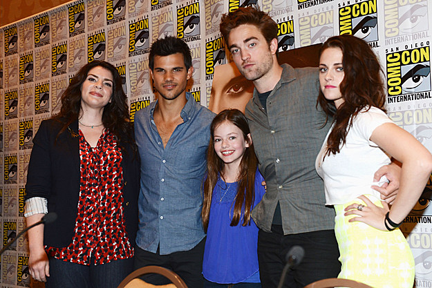 Comic-Con 2012 'Twilight' panel