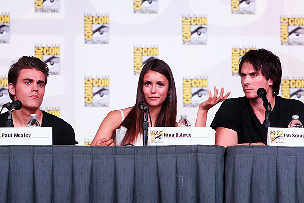 Comic-Con 2012 'The Vampire Diaries' panel