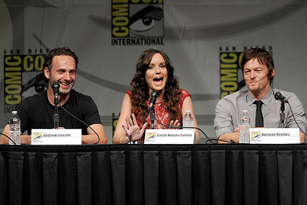 Comic-Con 2012 'The Walking Dead' Panel