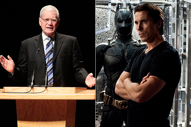 David Letterman on 'The Dark Knight Rises'