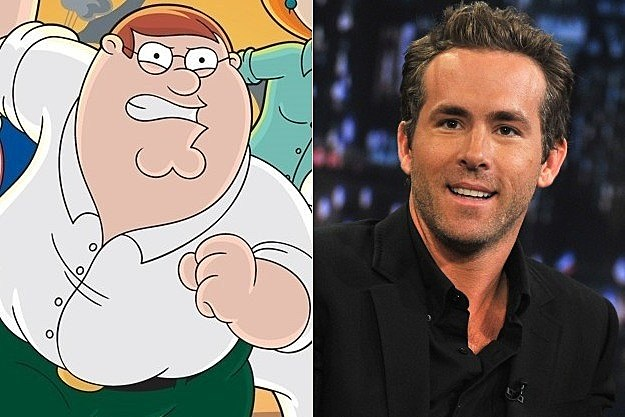 Family Guy Ryan Reynolds