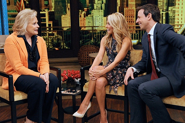 Seth Meyers Kelly Ripa
