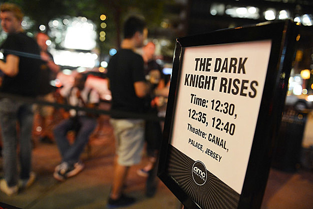 The Dark Knight Rises Screening