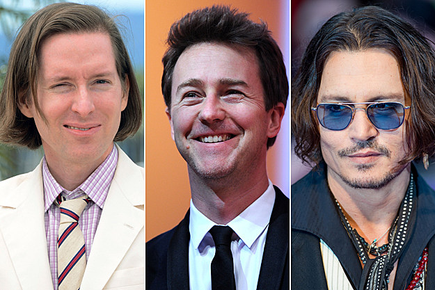 Wes Anderson + Ed Norton + Johnny Depp