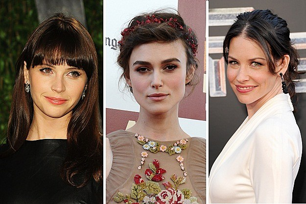 Felicity Jones, Keira Knightley, Evangeline Lilly