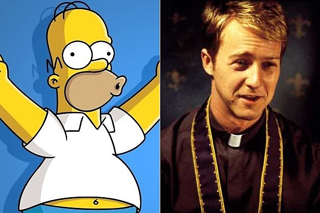 The Simpsons Season 24 Edward Norton