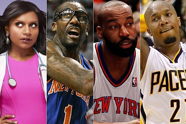 The Mindy Project Amare Stoudemire Baron Davis Danny Granger