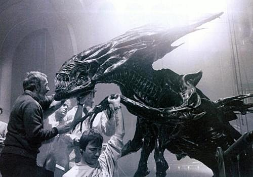 'Alien' Behind the Scenes