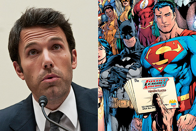 Ben Affleck + 'Justice League'