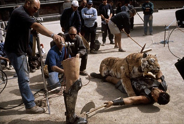 'Gladiator' Behind the Scenes