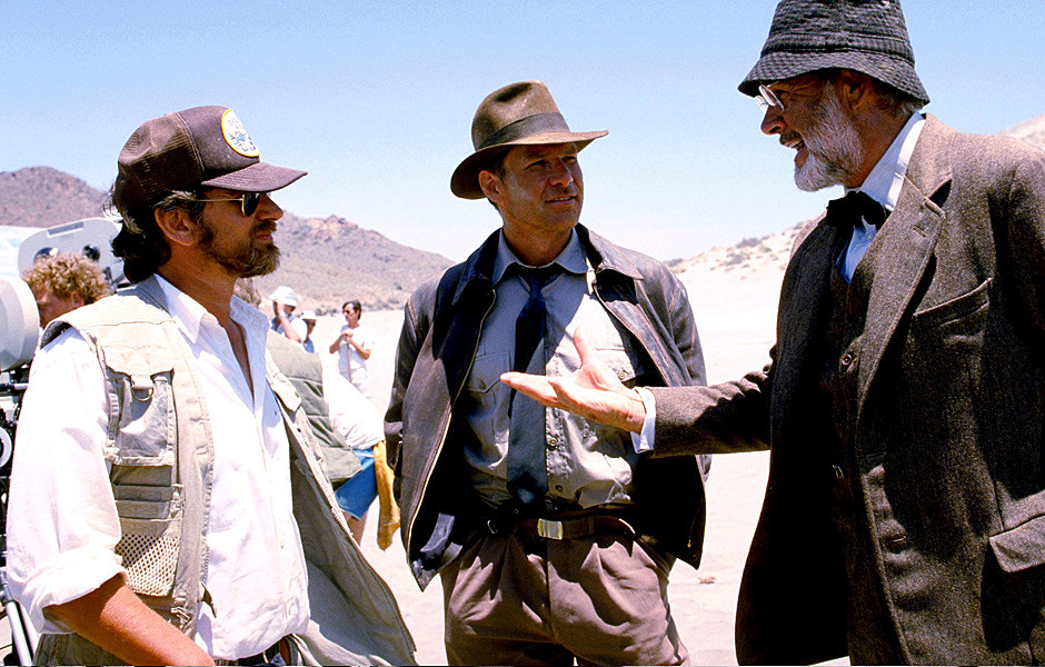 'Indiana Jones and the Last Crusade' Behind the Scenes