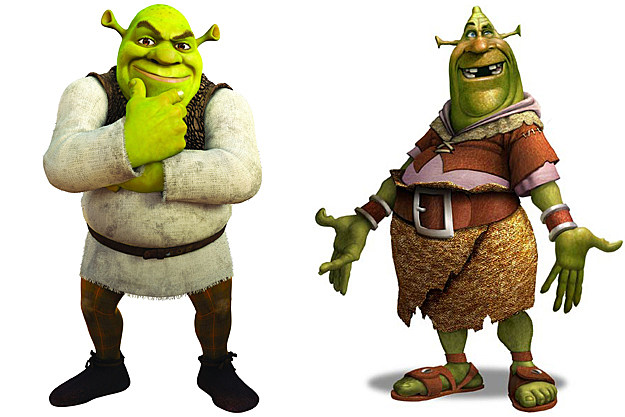 Shrek early concept art
