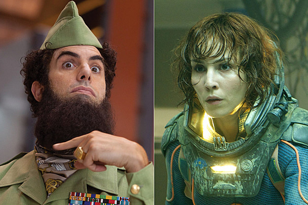'The Dictator' + 'Prometheus'