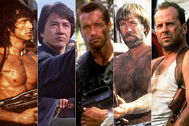 the 25 greatest action stars of all time. Black Bedroom Furniture Sets. Home Design Ideas