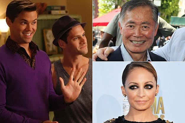 The New Normal George Takei Nicole Richie