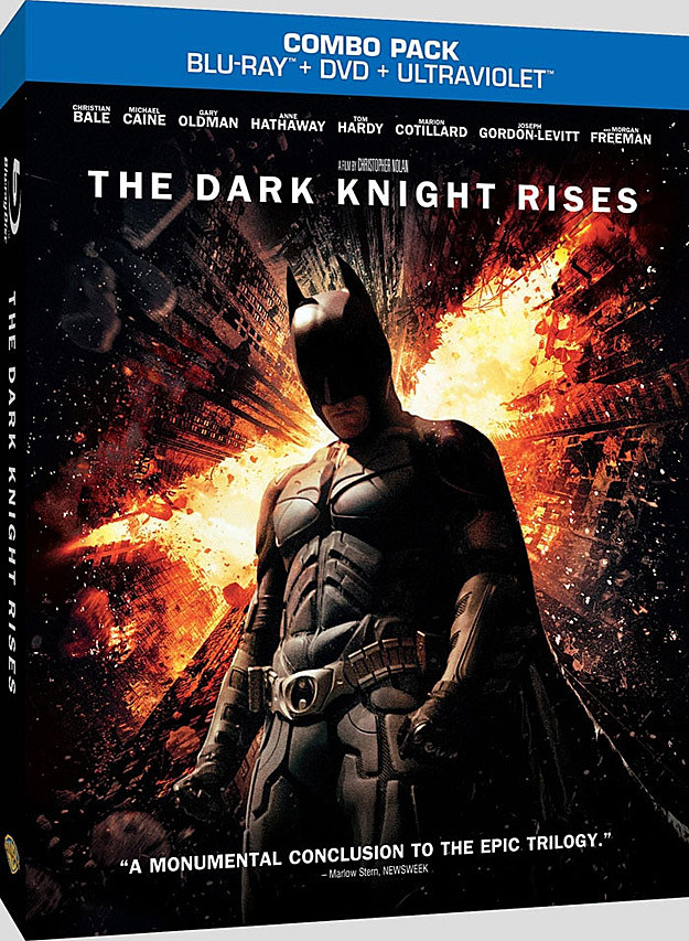 Dark Knight Rises Blu-ray