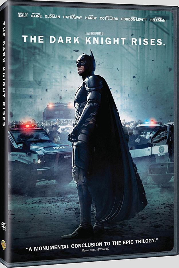 Dark Knight Rises DVD