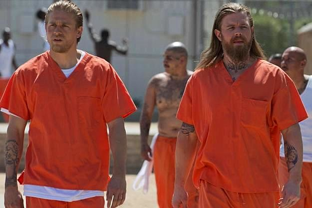 Sons of Anarchy Season 5 Laying Pipe Opie