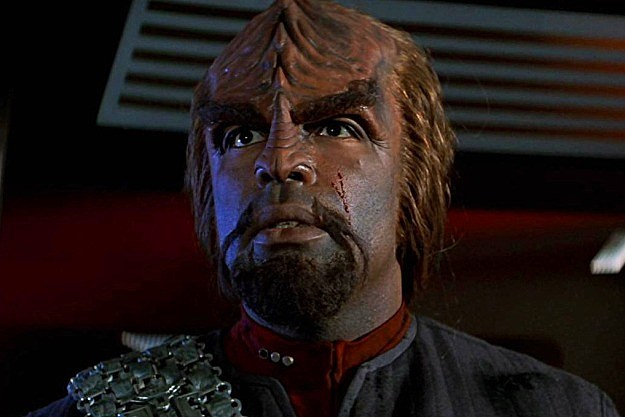 Star Trek Worf TV Series
