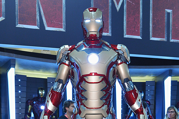 'Iron Man 3' armor