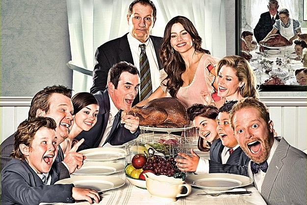 Emmys 2012 Modern Family Outstanding Comedy