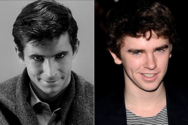 Psycho prequel series bates motel finally casts its norman for Freddie highmore movies and tv shows