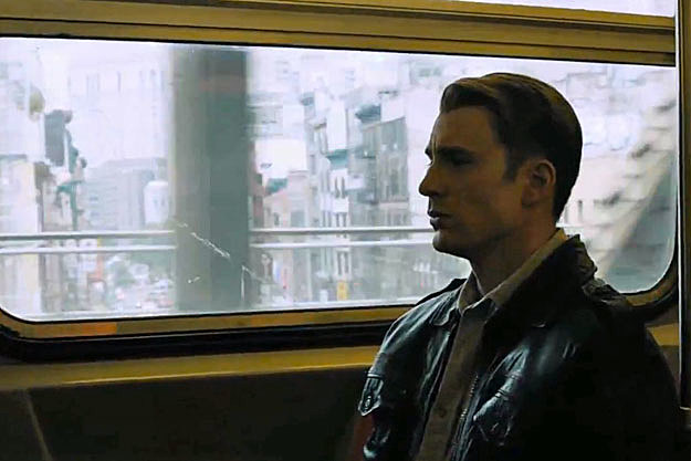 'The Avengers' deleted scene, Captain America