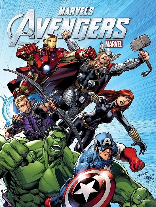 'The Avengers' DVD/Blu-ray poster