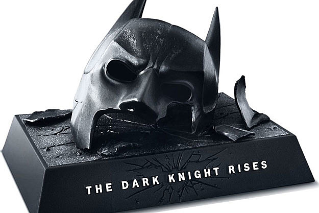 'The Dark Knight Rises' DVD
